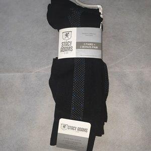 New Stacy Adams Mens Modern Dress Socks